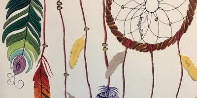 Dream Catcher Painting Party with a Purpose