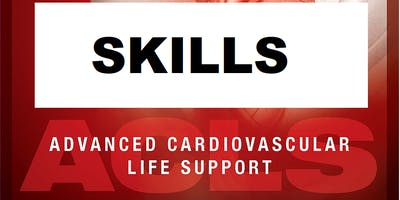 AHA ACLS Skills Session September 4, 2019 from 3 PM to 5 PM at Saving American Hearts, Inc. 6165 Lehman Drive Suite 202 Colorado Springs, Colorado 80918.