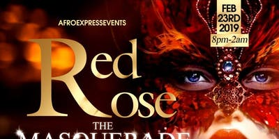 """RED ROSE """"The Masquerade Party"""""""