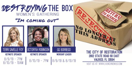 Destroying The Box Womens Gathering  tickets