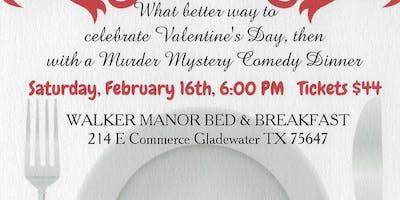 Show #2 Valentine Murder Mystery @ Walker Manor B & B $40