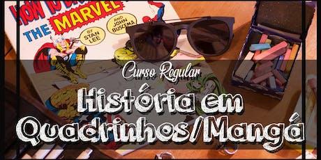 Curso de História em Quadrinhos/Mangá ingressos