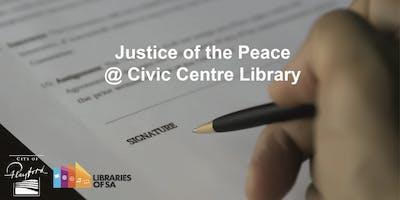 JP @ Civic Centre Library, Monday 10:30 AM - 12:30 PM