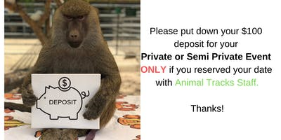 Private Tour Deposit