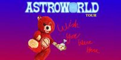 Travis Scott: Astroworld - Wish You Were Here Tour 2 Day Trip