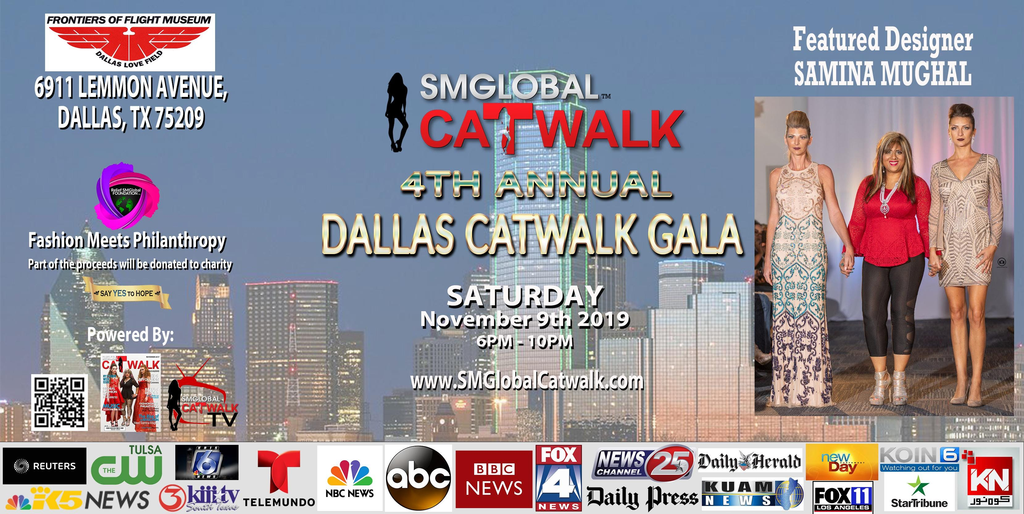 SMGlobal Catwalk - 4th Annual DALLAS CATWALK GALA - 11.9.19