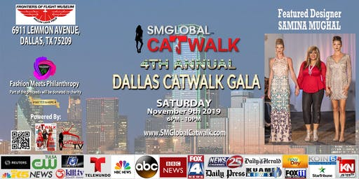 SMGlobal Catwalk - 4th Annual DALLAS CATWALK GALA - 11.9.19