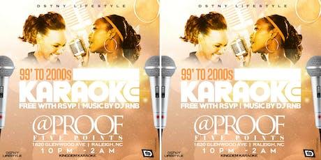 Karaoke - For The 99 & 2000s tickets