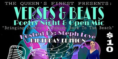 VERSES & BEATS POETRY NIGHT AND OPEN MIC