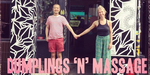 Dumplings 'N' Massage Tuesdays In June