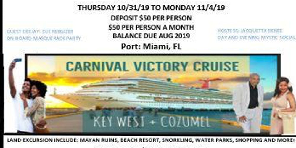 Mystic Mayan Weekend Get A Way Cruise - 10/31/19 to 11/04/19 Tickets on