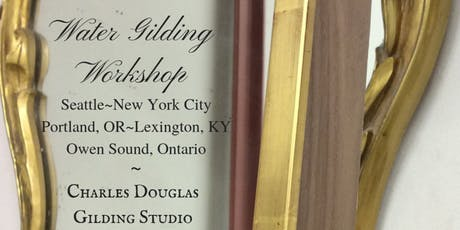 Traditional Water Gilding Class (New York City) tickets