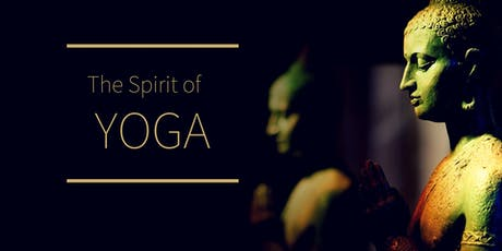 The Spirit of Yoga tickets