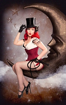 Porcelain - The Red Hot Pinup logo