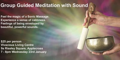 Guided Meditation with Sounds of Tibetan & Crystal Singing Bowls & Gongs