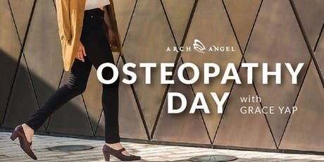 Osteopathy Day with Grace Yap tickets