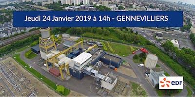 Visite entreprise remarquable - Turbine à combustion EDF à Gennevilliers