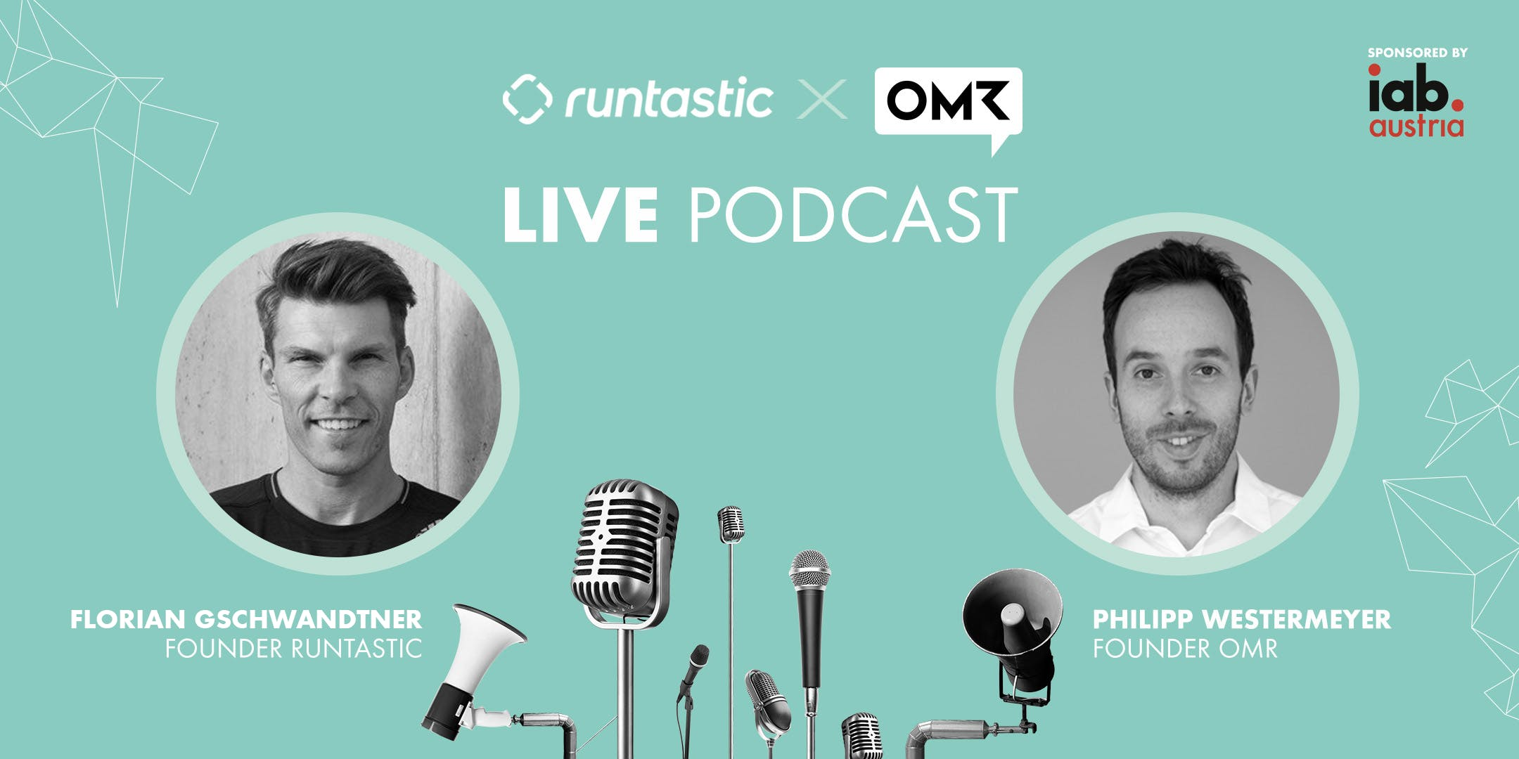Live OMR Podcast mit Florian Gschwandtner & P