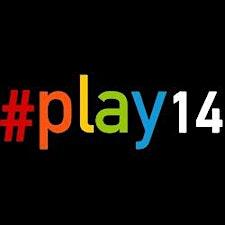 The #play14 Berlin team (Julian, Barbara, [ki:]®Learning) logo