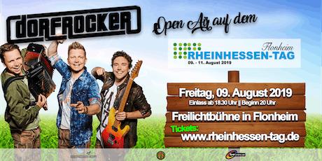 DORFROCKER Open Air auf dem Rheinhessen-Tag 2019 Tickets