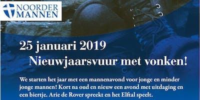 Noordermannen: Nieuwjaarsvuur met vonken