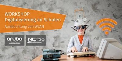 """Workshop """"Digitalisierung an Schulen"""" - Ausleuchtung von WLAN (Münster)"""