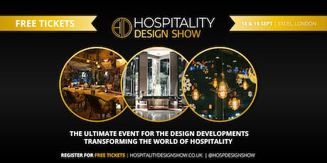 The Hospitality Design Show tickets