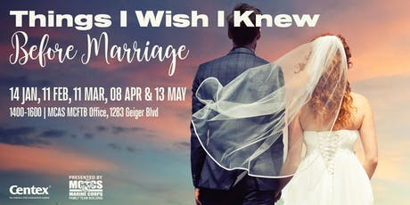 Things I Wish I Knew Before Marriage  tickets