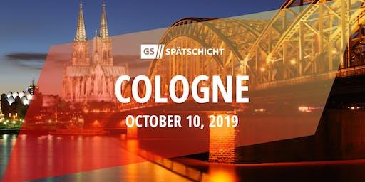 Gründerszene Spätschicht Cologne - 10.10.2019