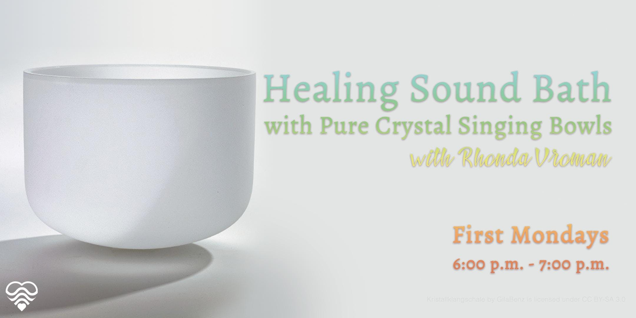 Healing Sound Bath with Pure Crystal Singing Bowls