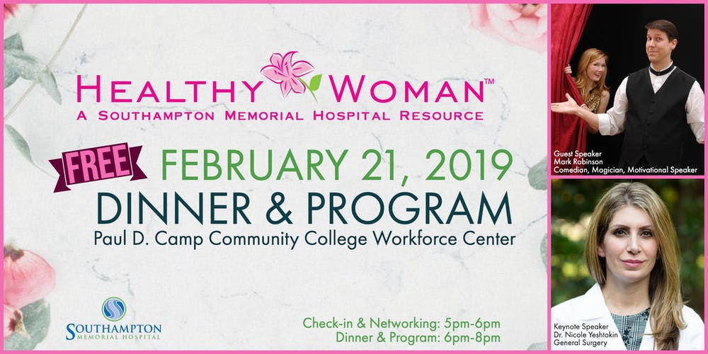 Healthy Woman Dinner And Program Sold Out Tickets Thu Feb 21