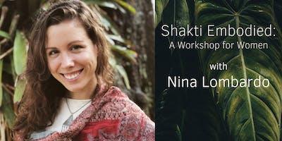 Shakti Embodied: A Workshop for Women