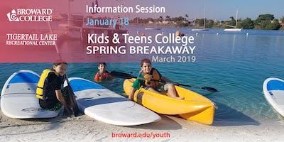 Open House: Spring Break 2019 Kids and Teens College - Broward College