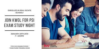 Real Estate Exam Study Group - Monday January 28th at KWGreater Lexington
