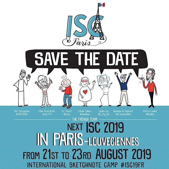 International Sketchnote Camp 2019 #ISC19FR image