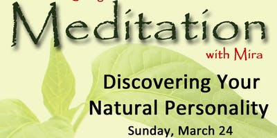 1-Day Meditation Program: Discovering Your Natural Personality