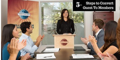 Webinar - 5 Steps to Convert Guests to Members – Without being PUSHY