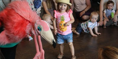 Little Flamingos: Creative Clay