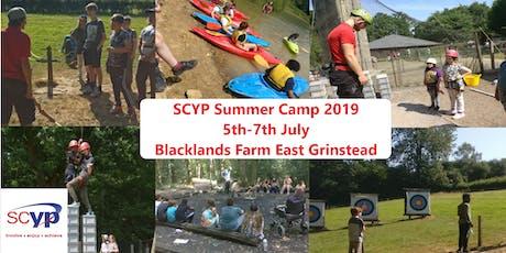SCYP Summer Camp 2019 tickets