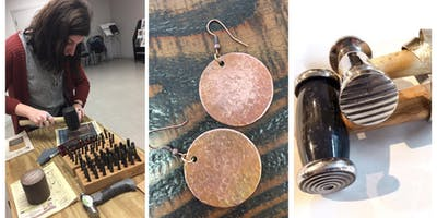 Hammered Metal Jewelry with Lindsay Huff