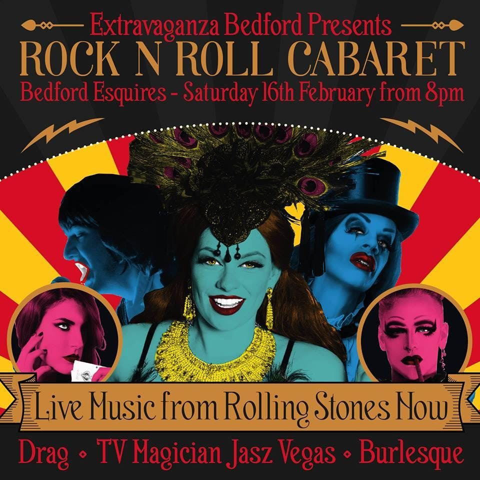 THE ROLLING STONES NOW - Rock N roll cabaret