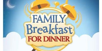 Breakfast for Dinner Family Night