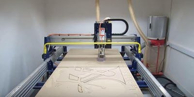 Operating the CNC Router