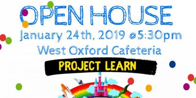 Open House for Project Learn