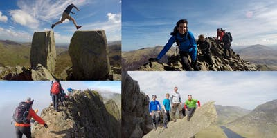 Scrambling Weekend - Crib Goch & Tryfan