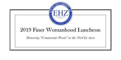 2019 Zeta Phi Beta Finer Womanhood Luncheon - Columbus, GA
