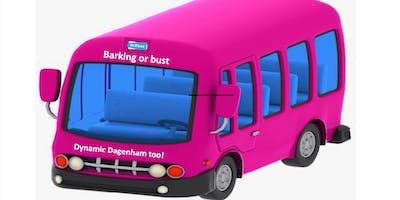Barking or bust tour - dynamic Dagenham too!