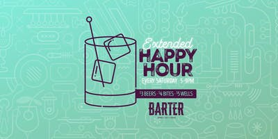 Extended Happy Hour Saturdays