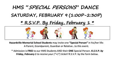 HMS PTO Special Persons Dance