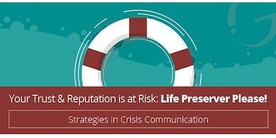 The Impact Group Leadership Academy: CRISIS COMMUNICATION